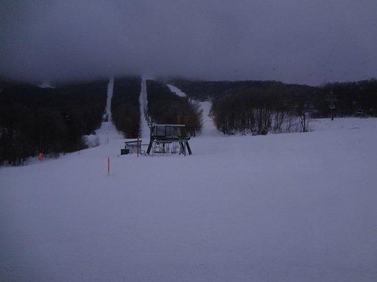 Jay Peak Resort: View from room