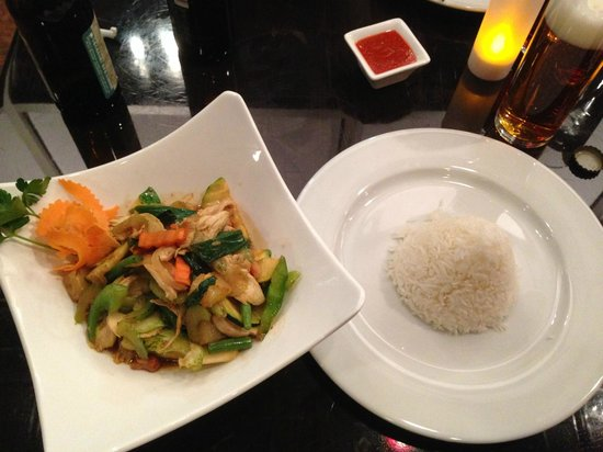 Acasia Thai Restaurant: Pineapple Cashew Sauce = Amazing