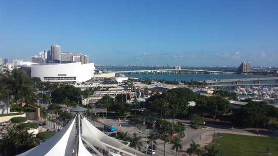 YVE Hotel Miami: My view from the hotel