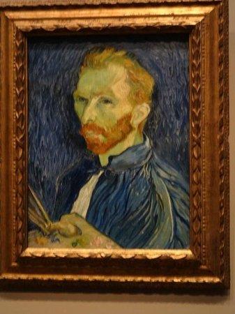 National Gallery of Art : Van Gogh's self portrait - great!!