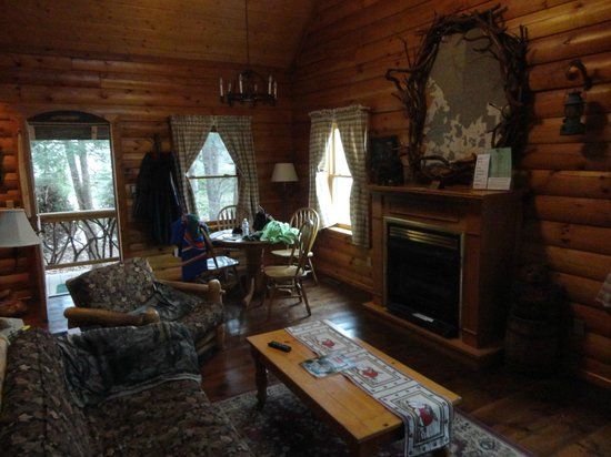 Laurelwood Inn: Cabin View During our Stay