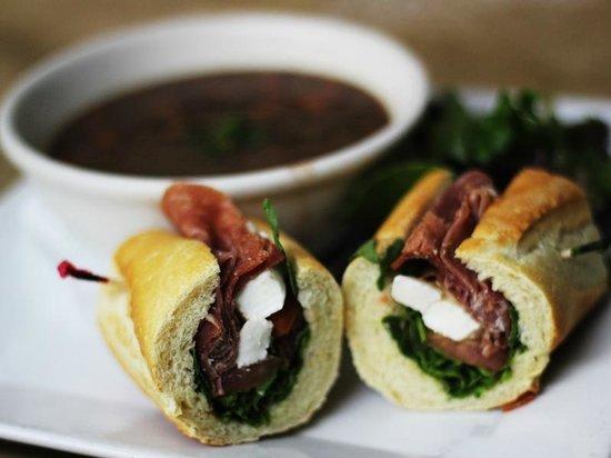 La Loggia Ristorant: soup and sadwich combo