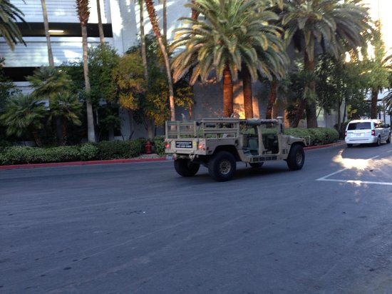 Battlefield Vegas : The vechile that drove us back to the hotel