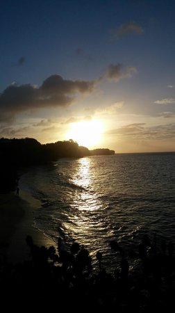 Grenadian by Rex Resorts: Sunset was amazing