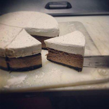 Olive's Restaurant & Bar: 'Hot Chocolate' Cheesecake