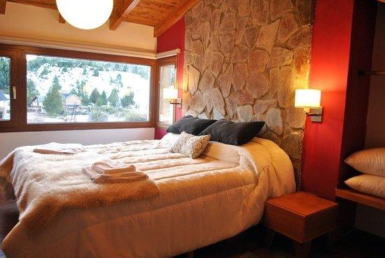 Kurtem Lodge: Uno de los cuartos de nuestra cabaña