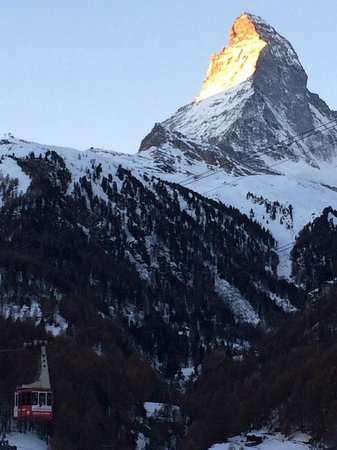 Hotel Matterhorn Focus: View from our balcony.