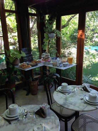 Casa Glebinias: breakfast