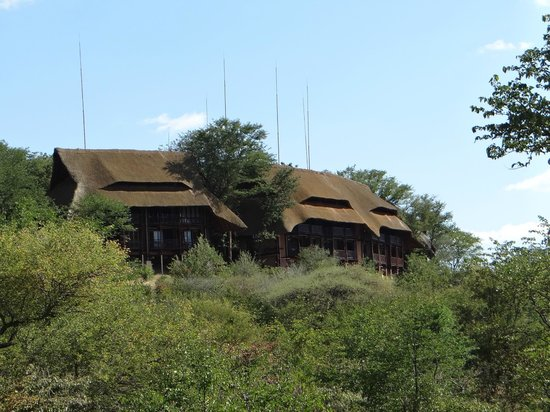 Victoria Falls Safari Lodge : O hotel