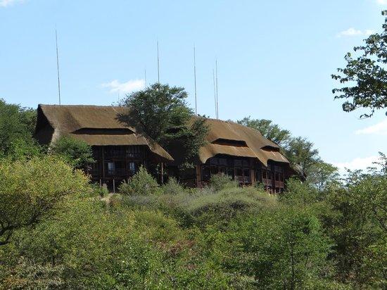 Victoria Falls Safari Lodge: O hotel