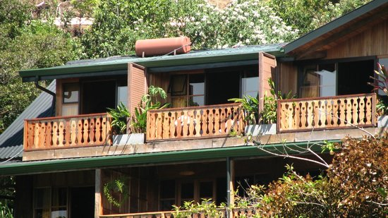 Hotel Belmar : Balcony of room in main lodge