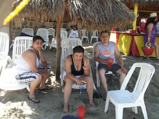 Decameron Los Cocos: muy limpia la playa y excelentes instalaciones