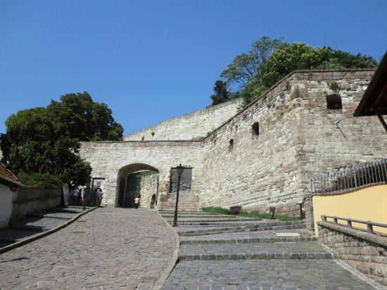 Eger Castle (Egri Var) : お城の入り口