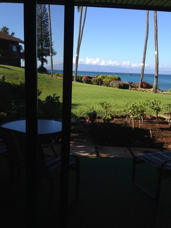 Mahina Surf: Photo from patio