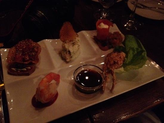 Rim Rock Cafe & Oyster Bar : Seafood antipasto