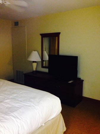 "Homewood Suites Newark-Cranford : Bedroom tv 42"" I think"