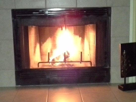 Park Lane Hotel and Suites: nice fire