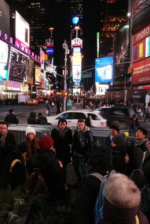 Inside Broadway Tours : Times Square