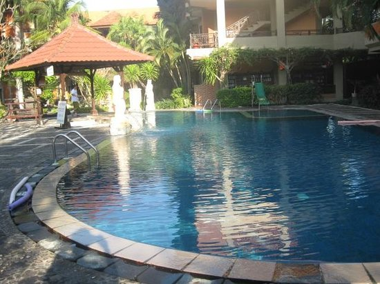 Adi Dharma Hotel: Hotel pool