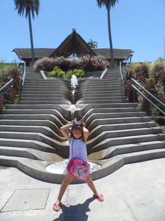 ingreso al parque acuatico