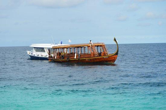 Vivanta by Taj Coral Reef Maldives: Boat