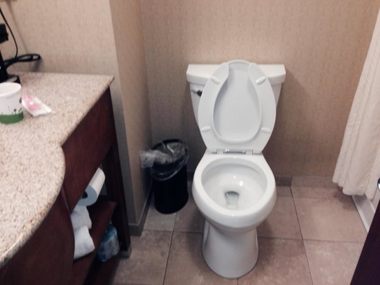 Hampton Inn & Suites Richmond: Clean bathroom