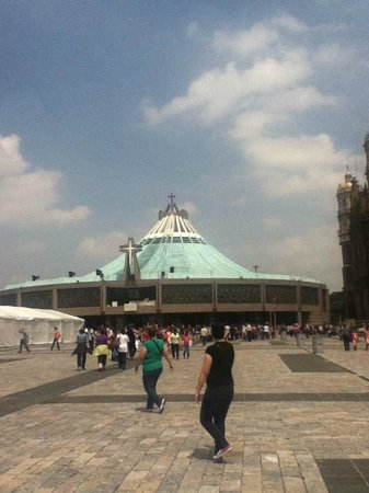 Basilica Lady of Guadalupe and Teotihuacan: The Basilica