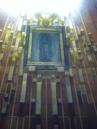 Basilica Lady of Guadalupe and Teotihuacan: Juan Diego's Tilma