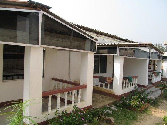 Tajpur Palm Village Resort: balcony