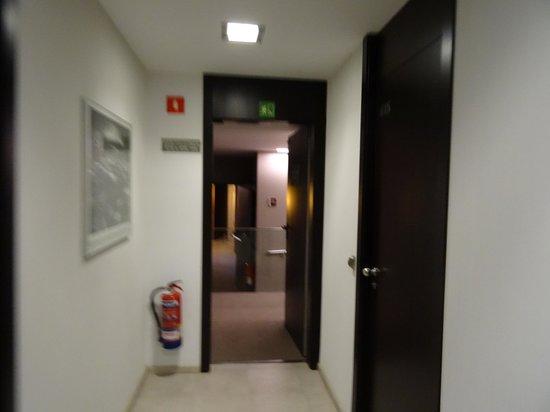 Hotel Actual: hallway