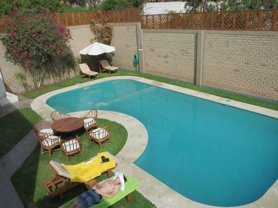 La Piscina Desde La Terraza Del 2do Piso Picture Of Hotel