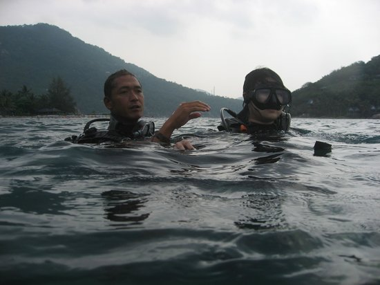 Discovery Dive Centre: our instructor