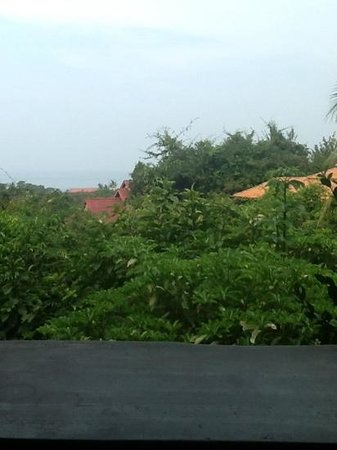 Veranda Natural Resort: view from the family suite 10A and 11A
