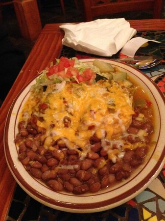 Church Street Cafe: chili relleno