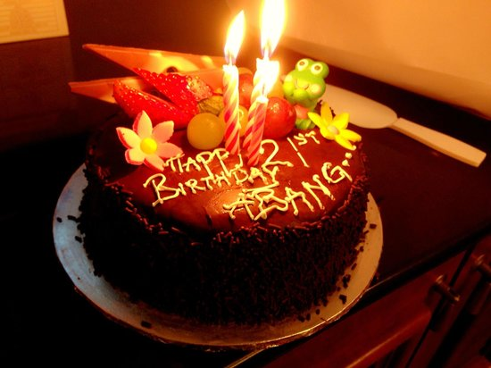 Grand Lexis Port Dickson: Birthday cake
