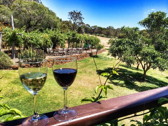 Rivendell Winery Estate Cellar Door: Beautiful view from the Rivendell balcony