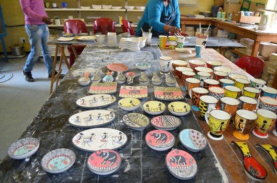 Siviwe Township Tours: Educational Center pottery class