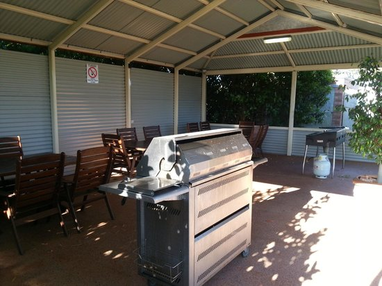 Busselton Holiday Village: A great BBQ area
