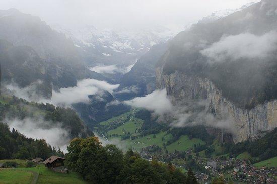 Jungfraujoch : View from train