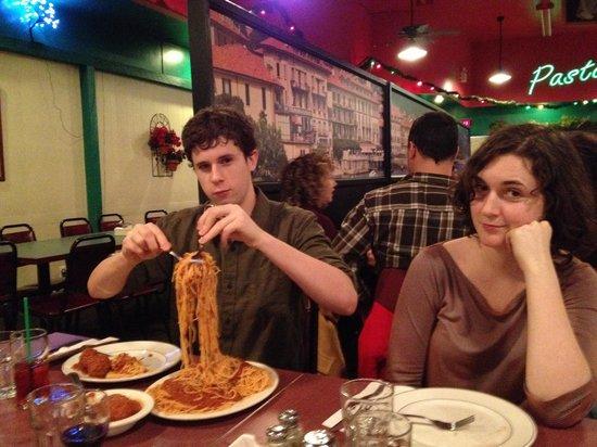 The Colander Restaurant: Typical episode,