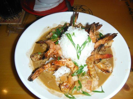 Bubba Gump Shrimp Co. : Camarones tipo New Orleans