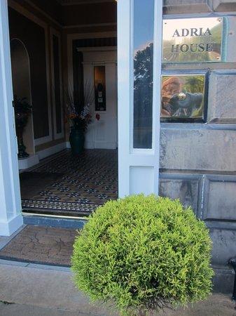 Adria House entrance