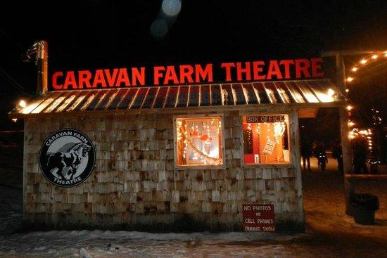 Caravan Farm Theatre: The main gate