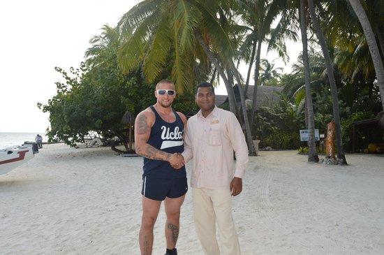 Vivanta by Taj Coral Reef Maldives : Ray and Yuvaraj