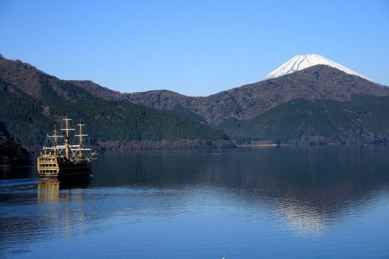 Hakone Hotel : Mt.Fuji and Lake Ashi