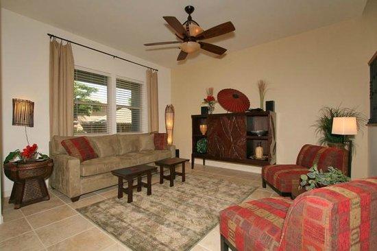 Fairways at Mauna Lani: Living Room