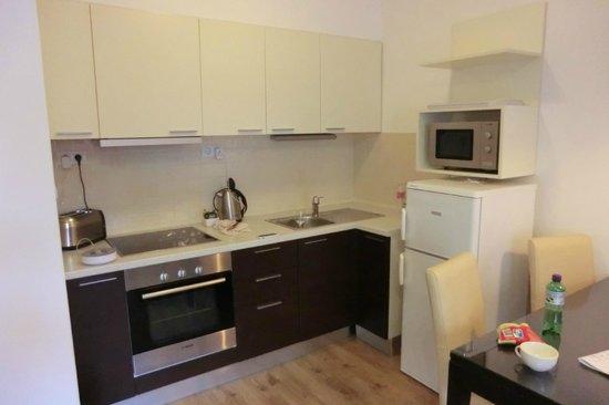 Fraser Residence Budapest: Kitchen @ Stuido