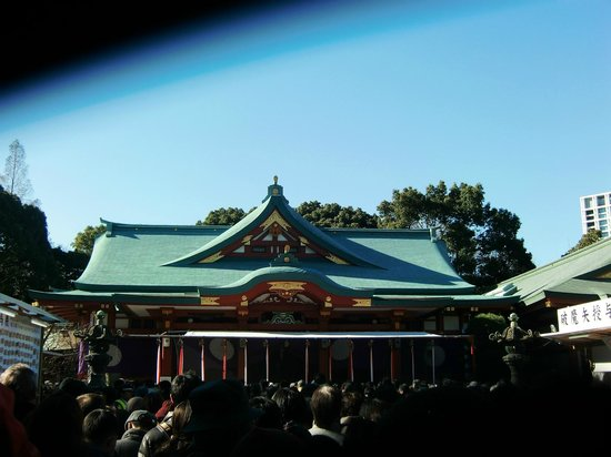 Hie Shrine: ご本殿