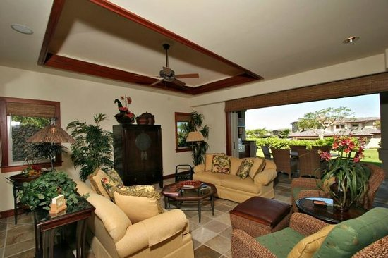 Villages At Mauna Lani: Living Room