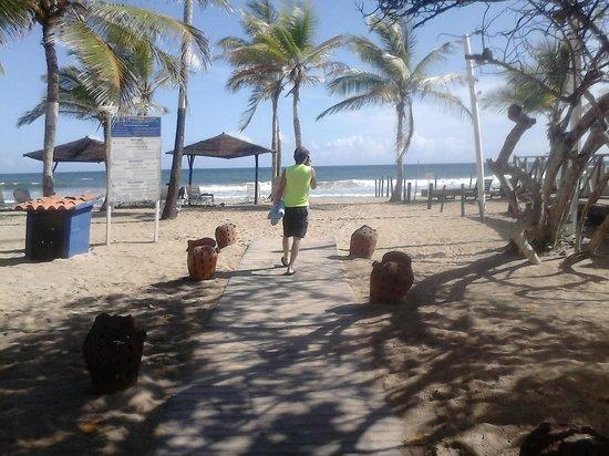 Laguna Mar: La playa del Hotel